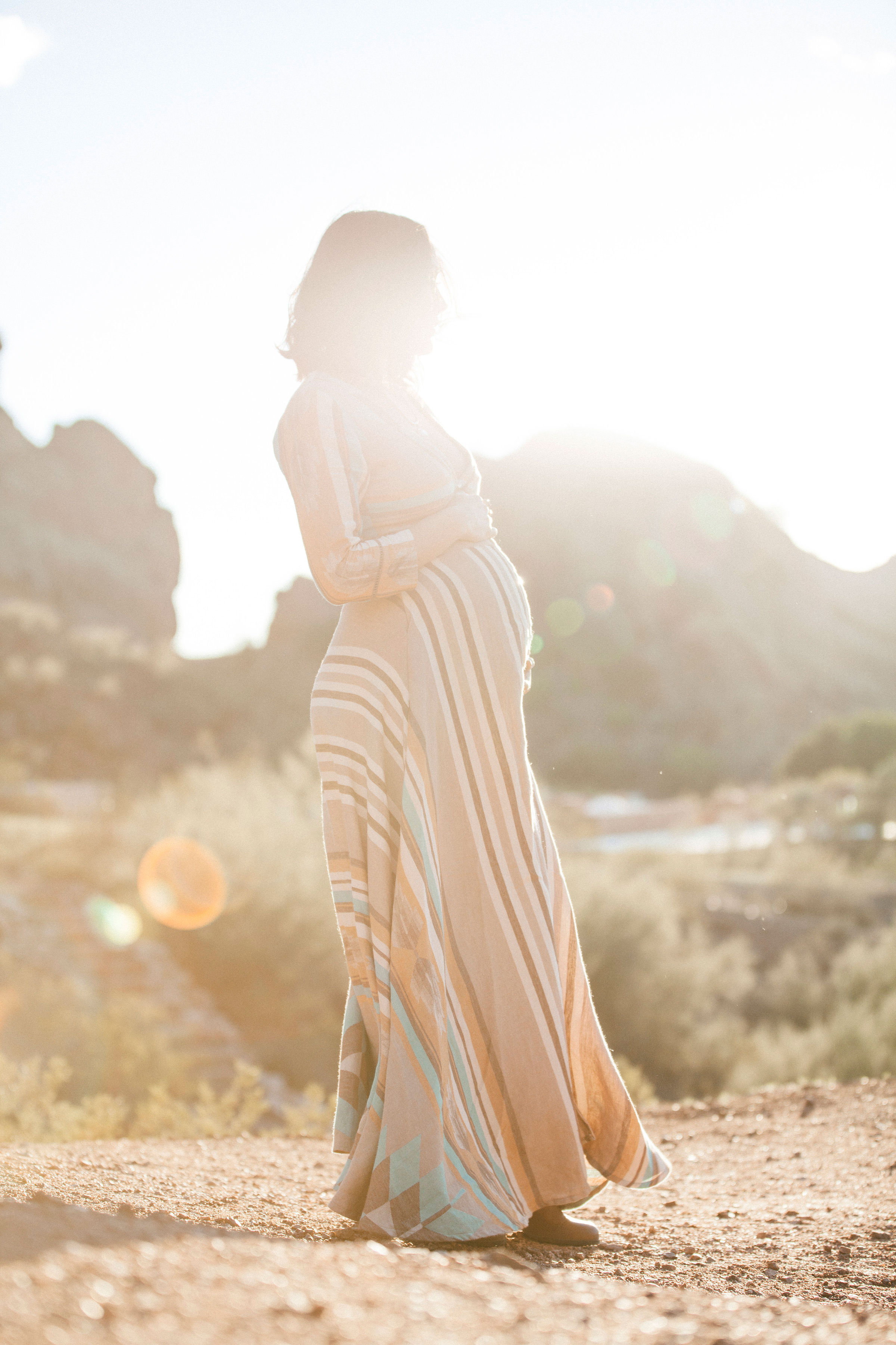 Kate Nelle Photography | Brie Bella's Maternity Session | Camelback Mountain